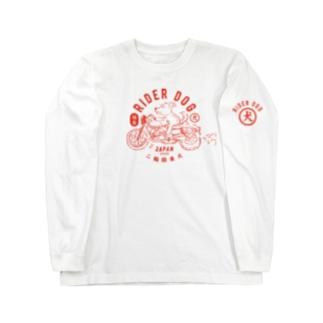 RIDER DOG Long sleeve T-shirts