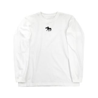 あひる Long sleeve T-shirts