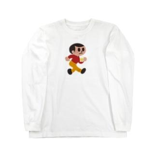 呑み過ぎ坊や Long sleeve T-shirts