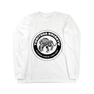 とびとらBreakTV ロゴ / MONO Long Sleeve T-Shirt