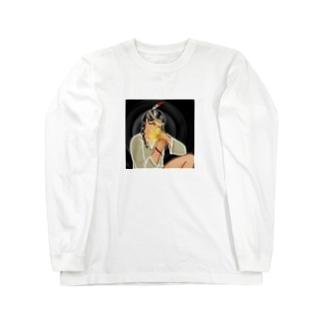 ネイティブアメリカンっ娘 Long sleeve T-shirts