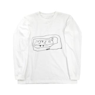 ちっちのぶーたー Long sleeve T-shirts