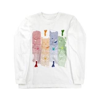 とおぼえブックマーク! Long sleeve T-shirts