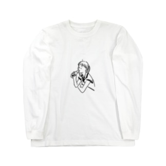 沁み渡るぜ Long sleeve T-shirts