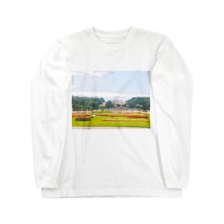 ハンガリーフォトT Long sleeve T-shirts