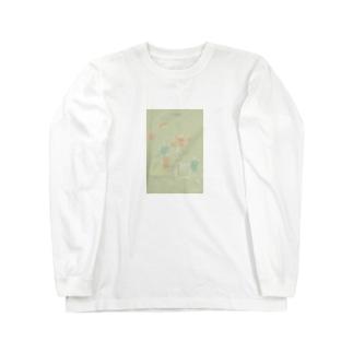 テーブルの上 Long sleeve T-shirts
