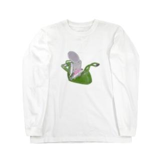 テキン(活版印刷機・レタープレス) Long sleeve T-shirts