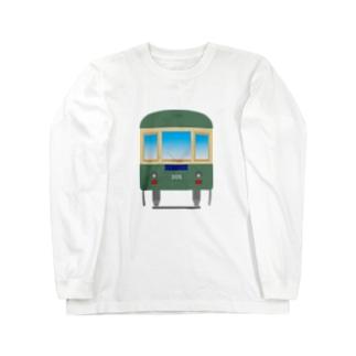 江ノ電305 Long sleeve T-shirts