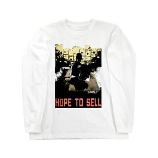 転売闇市 Long sleeve T-shirts