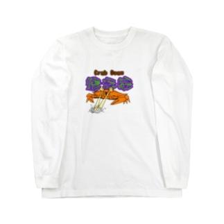 蟹光線 Long sleeve T-shirts