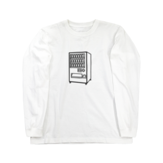 チョコリングボーイのお店の自動販売機 / type-A Long sleeve T-shirts