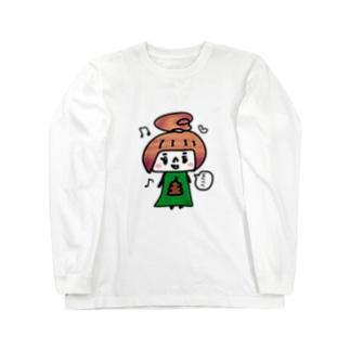 うんこちゃん Long sleeve T-shirts