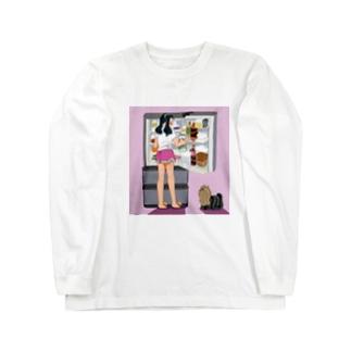 こっそりヨーキー Long Sleeve T-Shirt