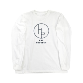 HAL PROJECT ロゴTシャツ 長袖 Long sleeve T-shirts