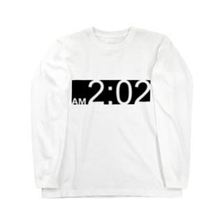 午前2時2分 Long sleeve T-shirts