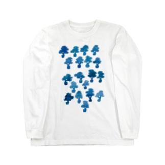 マツトカネノキ Long sleeve T-shirts