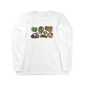 龍涎香(マッコウクジラの結石) Long sleeve T-shirts