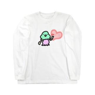 ハートタッチコペトン Long sleeve T-shirts