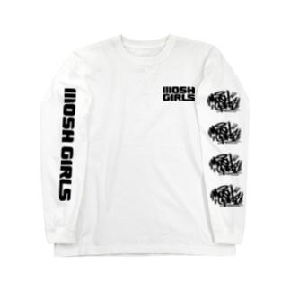 TAGGING LOGO (WHITE) Long sleeve T-shirts