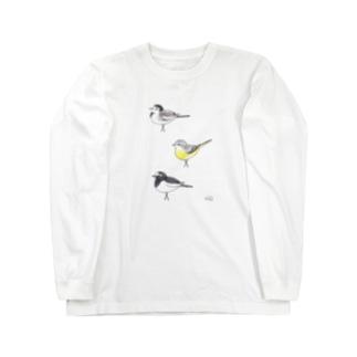 -SEKIREI No.3- Bird call Long sleeve T-shirts