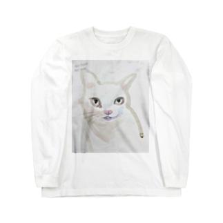 nohatenowar猫 Long sleeve T-shirts
