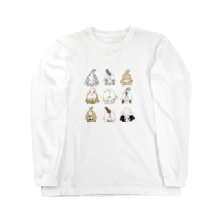 おちりコレクション Long sleeve T-shirts