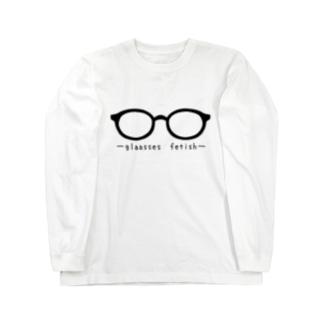 メガネ属性 Long sleeve T-shirts