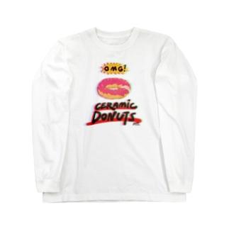 OMG! Ceramic Donuts Long sleeve T-shirts