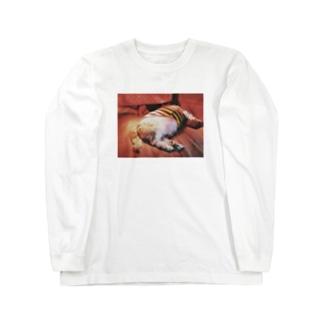 コタツイヌ♂ Long sleeve T-shirts