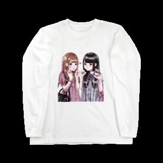 めたんのみせの娘々 Long sleeve T-shirts
