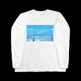 ユキの海の花 Long sleeve T-shirts