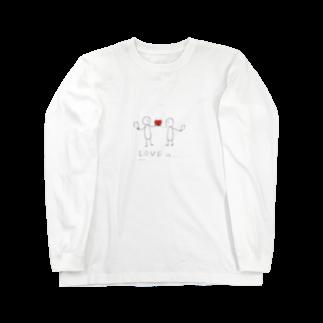 #HONGKIS2ZELO のLove is... Long sleeve T-shirts