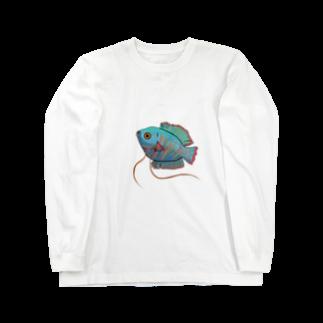 creat_tonakaiの熱帯魚 Long sleeve T-shirts
