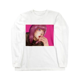 空腹な女の子 Long sleeve T-shirts