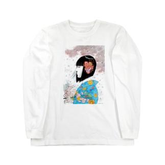 春の女 Long sleeve T-shirts