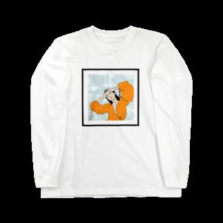 OCHIYASのorange pool Long sleeve T-shirts