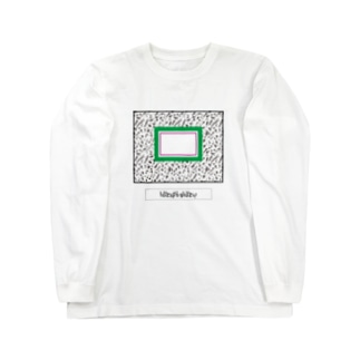 MY SEKAI(緑×紫) Long sleeve T-shirts