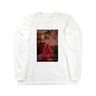 Satin bag Hinako Long sleeve T-shirts