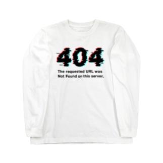 インターネットクラブの404 Not Found Long sleeve T-shirts