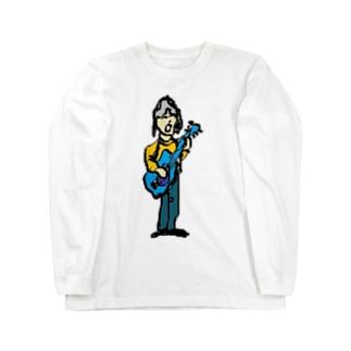 ギターリスト Long sleeve T-shirts
