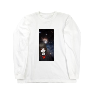 宇宙邪神 Long sleeve T-shirts