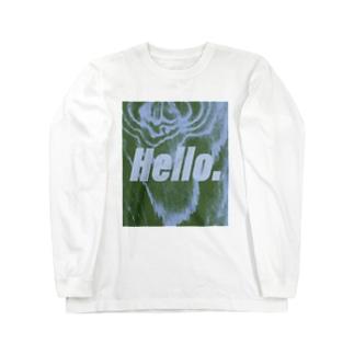 "JINXEHS series ""Hello."" Long sleeve T-shirts"