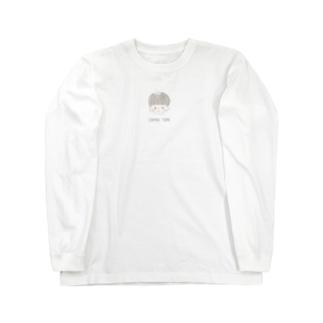 ショートカットの女の子 Long sleeve T-shirts
