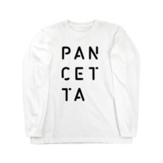PANCETTA LOGO Long sleeve T-shirts
