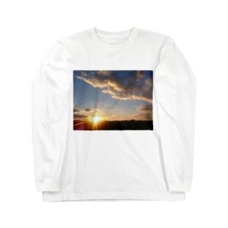 夜明け Long sleeve T-shirts