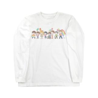 【Rainbow】パレード Long sleeve T-shirts