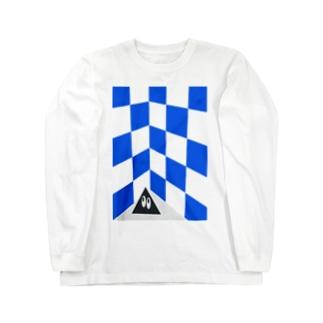 電気街の撮影会 Long sleeve T-shirts