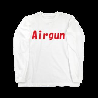 アメリカンベースのエアガン Long sleeve T-shirts