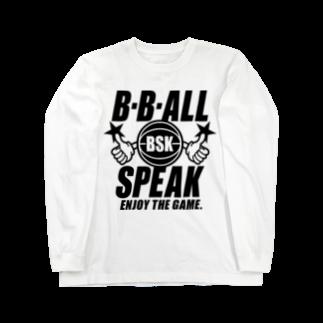 TakaJumpのB.B.ALL SPEAK Long sleeve T-shirts