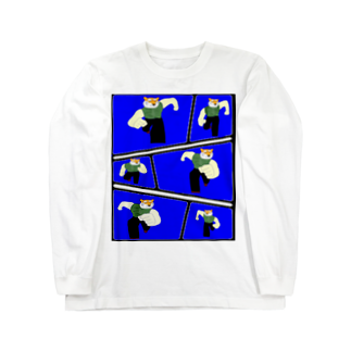 Danke Shoot Coffeeのランニングタイガー Long sleeve T-shirts